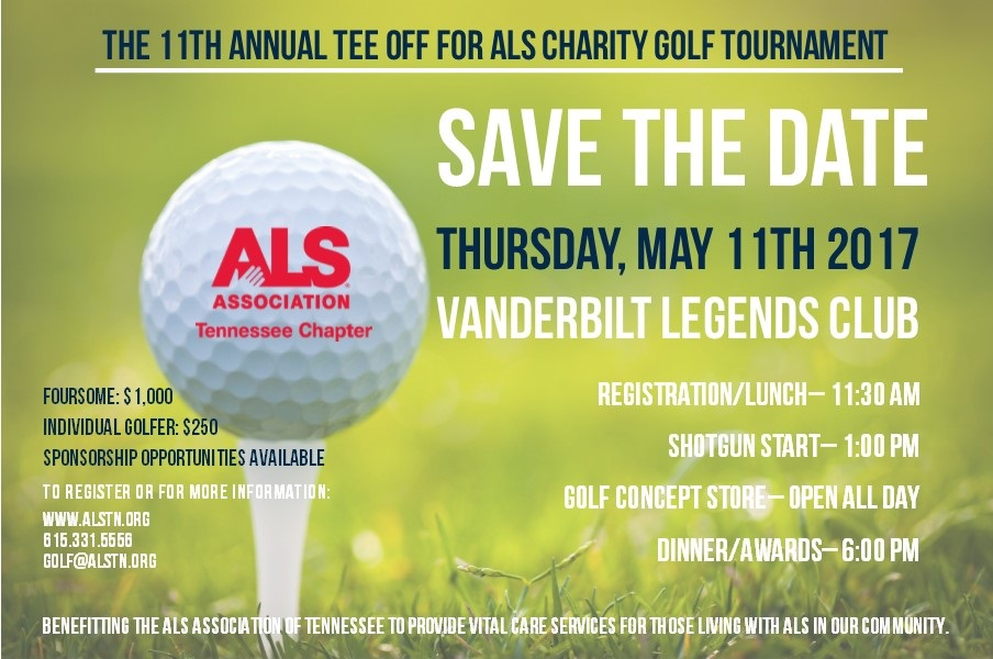 SAVE THE DATE 2017 TEE OFF